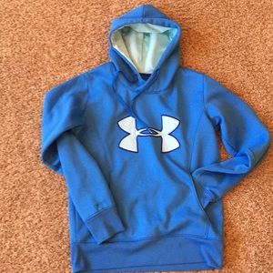 Ladies' Under Armour Semi-Fitted Hoodie, Sz Small